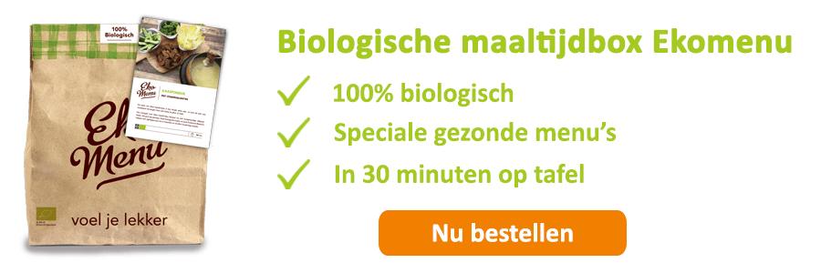 biologische maaltijdbox ekomenu