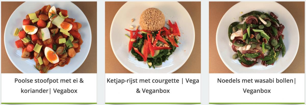 vegabox maaltijden