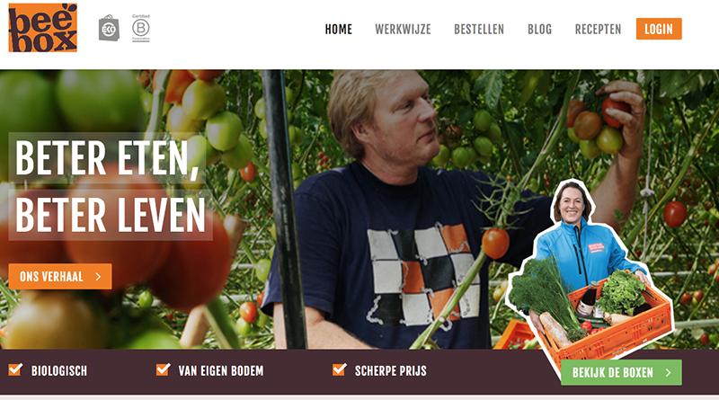 nieuwe website beebox