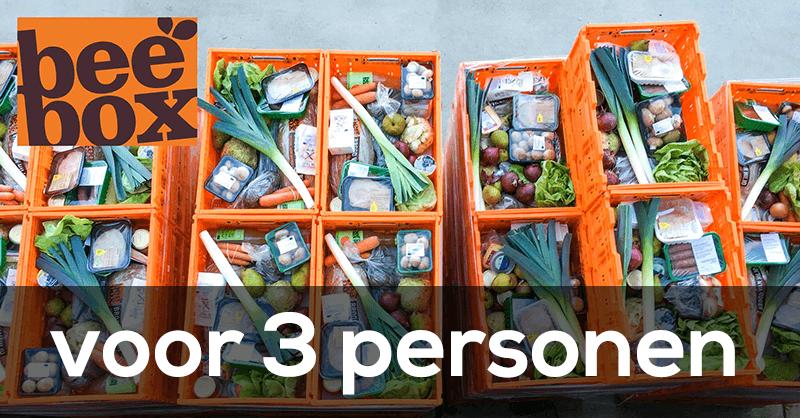 beebox maaltijdbox voor 3 personen