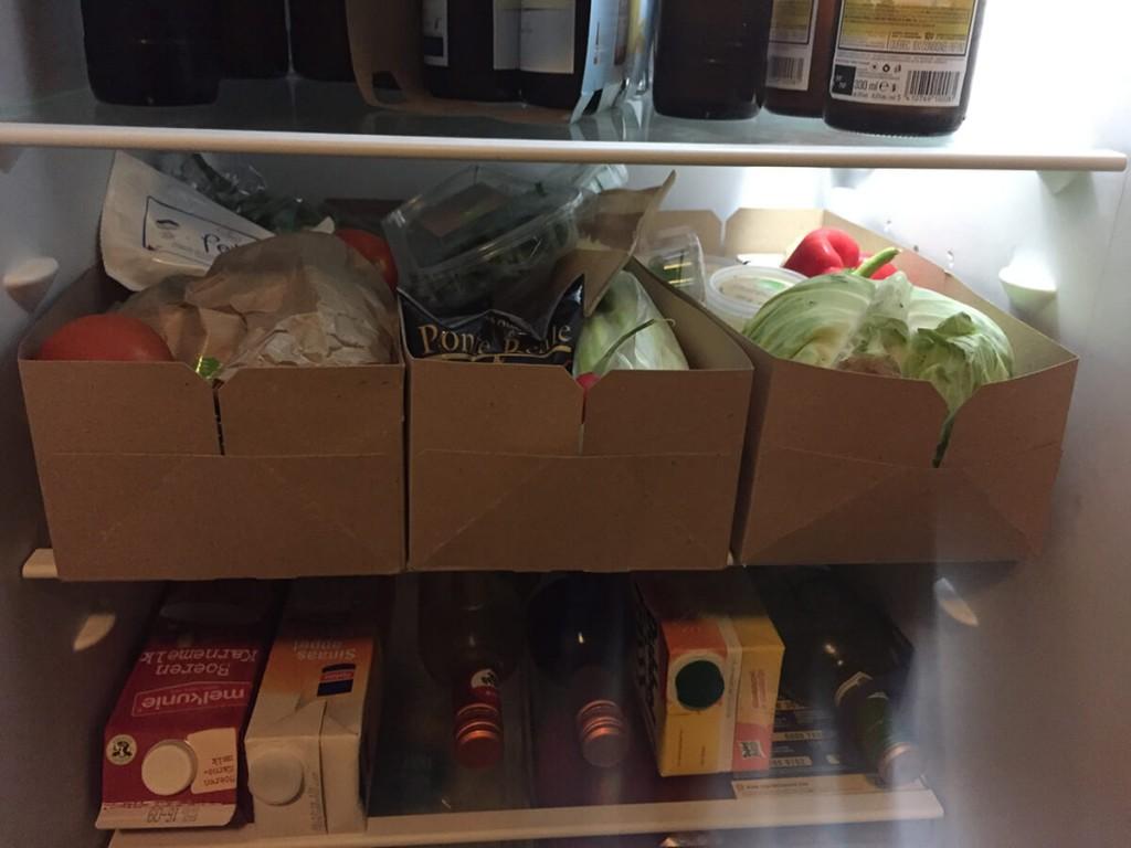 hellofresh veggiebox koelkast
