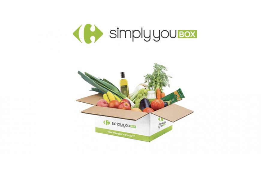 simply you box maaltijdbox carrefour