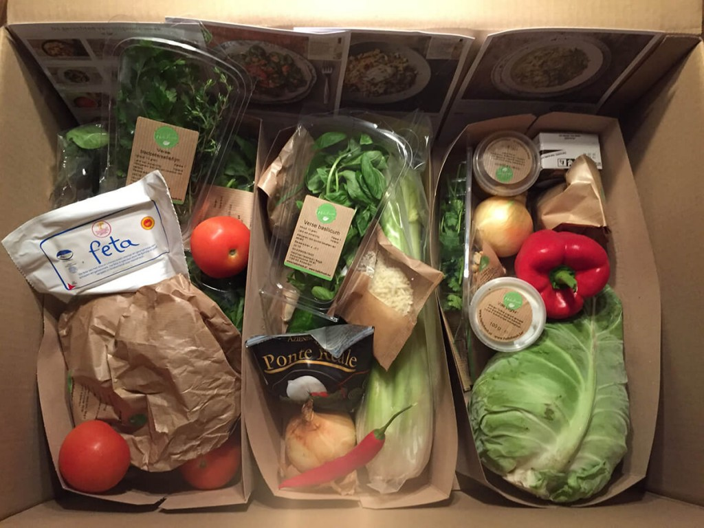 veggiebox unboxing