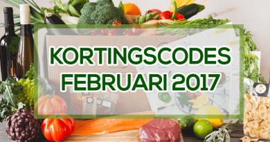 maaltijdbox kortingscodes februari 2017