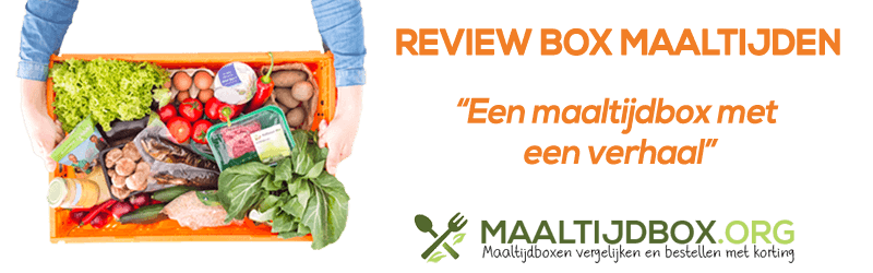 review beebox BOX maaltijden