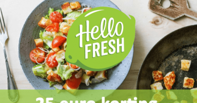hellofresh 25 korting april 2017