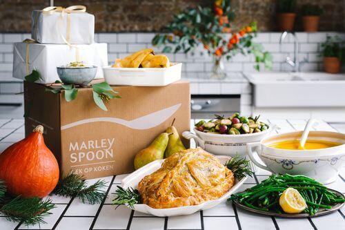marley spoon kerstbox 2017