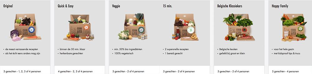 maaltijboxen van smartmat belgie