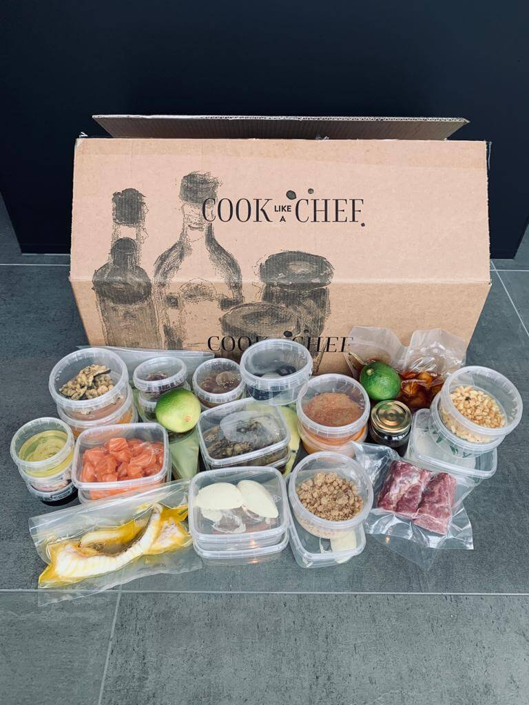 Cook Like A Chef | Review luxe dinerbox van sterrenrestaurants